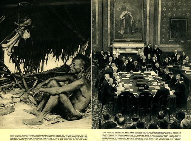 Photos et légendes extraites de Races, belles illustrations d'une époque, 1930, où la race était une catégorie de pensée évidente et nécessaire... ce regard porté sur le monde, le monde nous l'a bien rendu.